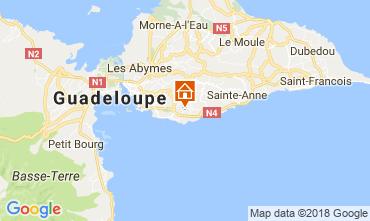 Mapa Gosier (Guadeloupe) Vivenda 77624