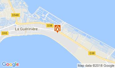 Mapa Noirmoutier en l'Île Mobil Home 114213