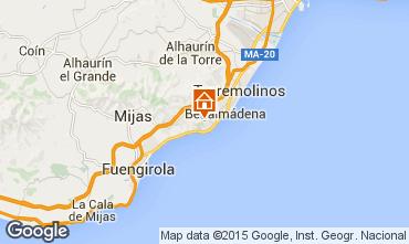 Mapa  Benalm�dena Vivenda 94643