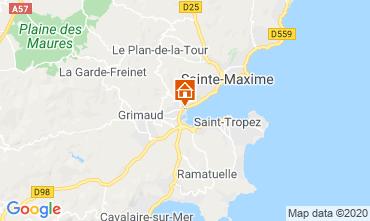 Mapa Port Grimaud Mobil Home 113311
