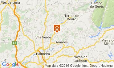 Mapa Braga Casa de turismo rural/Casa de campo 105979
