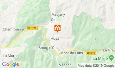 Mapa Alpe d'Huez Apartamentos 27