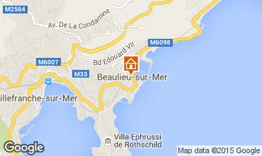 Mapa Beaulieu sur Mer Apartamentos 90459