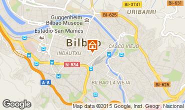 Mapa Bilbao Apartamentos 99986