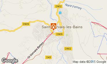 Mapa Saint Gervais Mont-Blanc Apartamentos 59536
