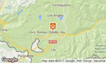 Mapa Font Romeu Apartamentos 4131