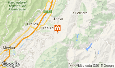 Mapa Les Sept Laux Apartamentos 73885