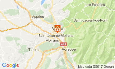 Mapa Grenoble Casa de turismo rural/Casa de campo 16078