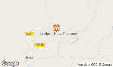 Mapa Alpe d'Huez Estúdio 49666