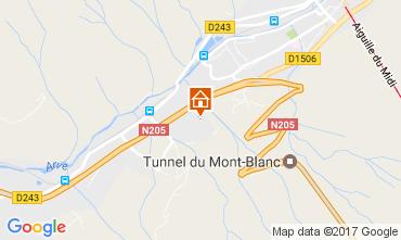 Mapa Chamonix Mont-Blanc Apartamentos 107901