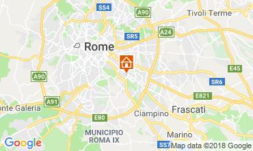 Mapa Roma Apartamentos 117444