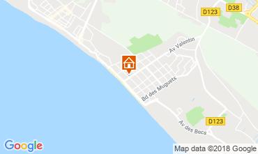 Mapa Saint Jean de Monts Apartamentos 81226