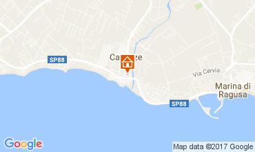 Mapa Marina di Ragusa Apartamentos 109677