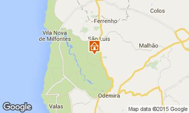 Mapa Vila Nova de Milfontes Casa de turismo rural/Casa de campo 55778