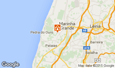 Mapa São Pedro de Moel Casa de turismo rural/Casa de campo 88024
