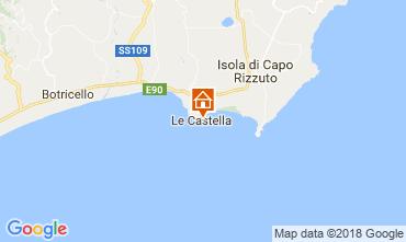 Mapa Le Castella Apartamentos 47005