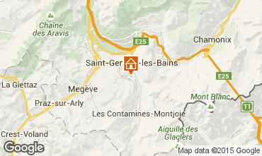 Mapa Saint-Gervais-les-Bains Chal� 82174