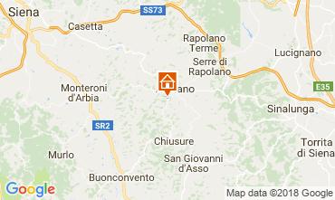 Mapa Siena Apartamentos 113564
