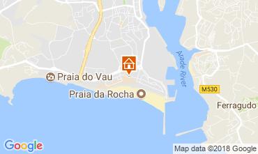 Mapa Praia da Rocha Apartamentos 115010