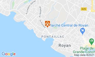 Mapa Royan Apartamentos 6844