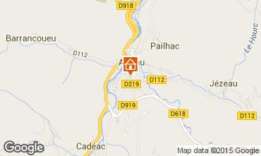 Mapa Saint Lary Soulan Apartamentos 74733