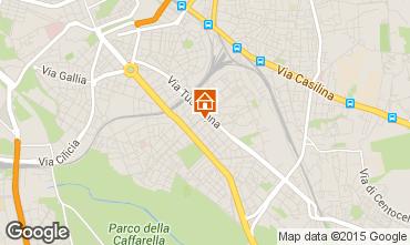 Mapa Roma Apartamentos 26345