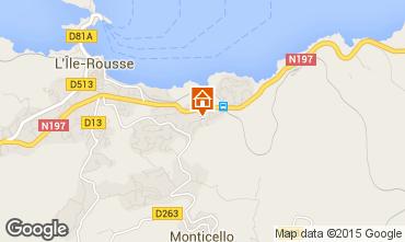 Mapa Location Ile Rousse Apartamentos 61232