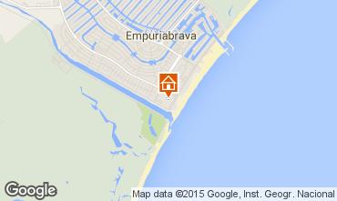 Mapa Empuriabrava Apartamentos 95619