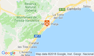 Mapa Miami Playa Vivenda 114454