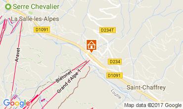 Mapa Serre Chevalier Apartamentos 58711