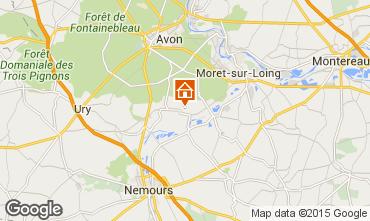 Mapa Fontainebleau Vivenda 76953