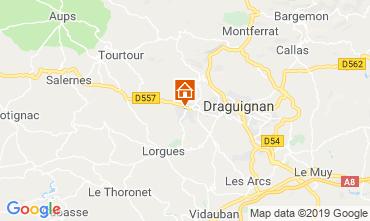 Mapa Draguignan Vivenda 117687