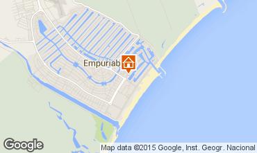 Mapa Empuriabrava Apartamentos 84990