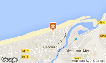 Mapa Cabourg Apartamentos 88477