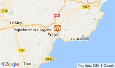 Mapa Fréjus Apartamentos 114903
