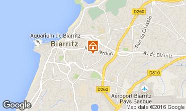 Mapa Biarritz Apartamentos 6396