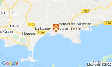 Mapa La Londe les Maures Apartamentos 68831