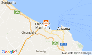 Mapa Falconara Marittima Apartamentos 99161