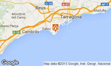 Mapa La Pineda Apartamentos 92971