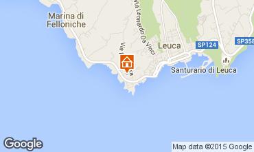 Mapa Santa Maria di Leuca Apartamentos 79689