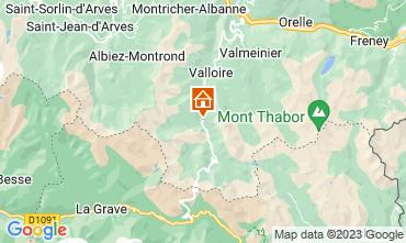 Mapa Valloire Apartamentos 3383