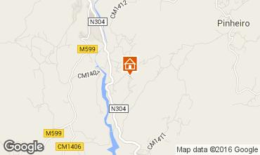 Mapa Vieira do Minho Casa de turismo rural/Casa de campo 38989