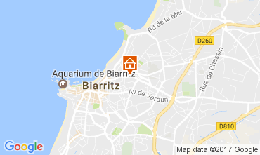 Mapa Biarritz Apartamentos 105192