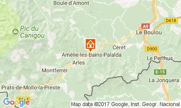 Mapa Amélie-Les-Bains Estúdio 112815