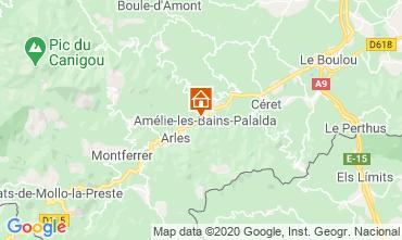 Mapa Amélie-Les-Bains Estúdio 101149