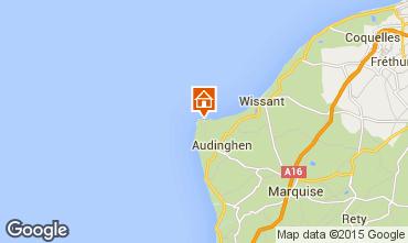 Mapa Audinghen Vivenda 85072