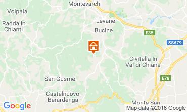 Mapa Arezzo Casa 117228