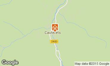 Mapa Cauterets Apartamentos 55364