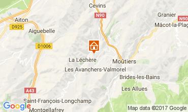 Mapa Valmorel Chalé 111890
