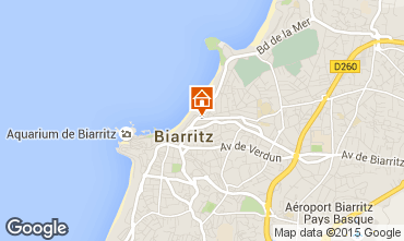 Mapa Biarritz Apartamentos 6363